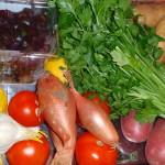 Ferske grønnsaker
