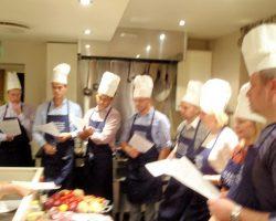 Fokus på teambygging og matkurs hos Martha Mettlig