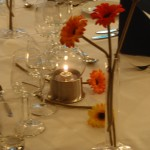 Dekket bord på Matkurs hos Martha Mettlig
