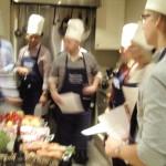 Store grupper til matkurs hos Martha Mettlig