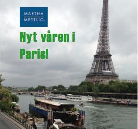 Teambuilding i Paris med Martha Mettlig