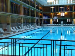 Hôtel Molitor innendørs basseng