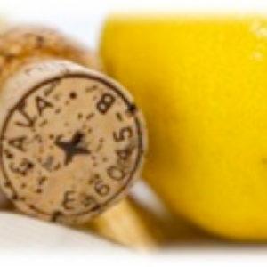 Sitron og Champagnekork