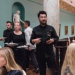 Pierre Sang Midnight in France, fransk meny med Martha Mettlig på Nasjonalgalleriet