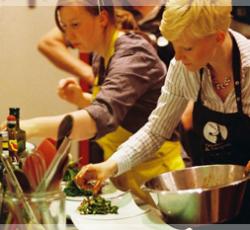 Teambygging på kjøkkenet